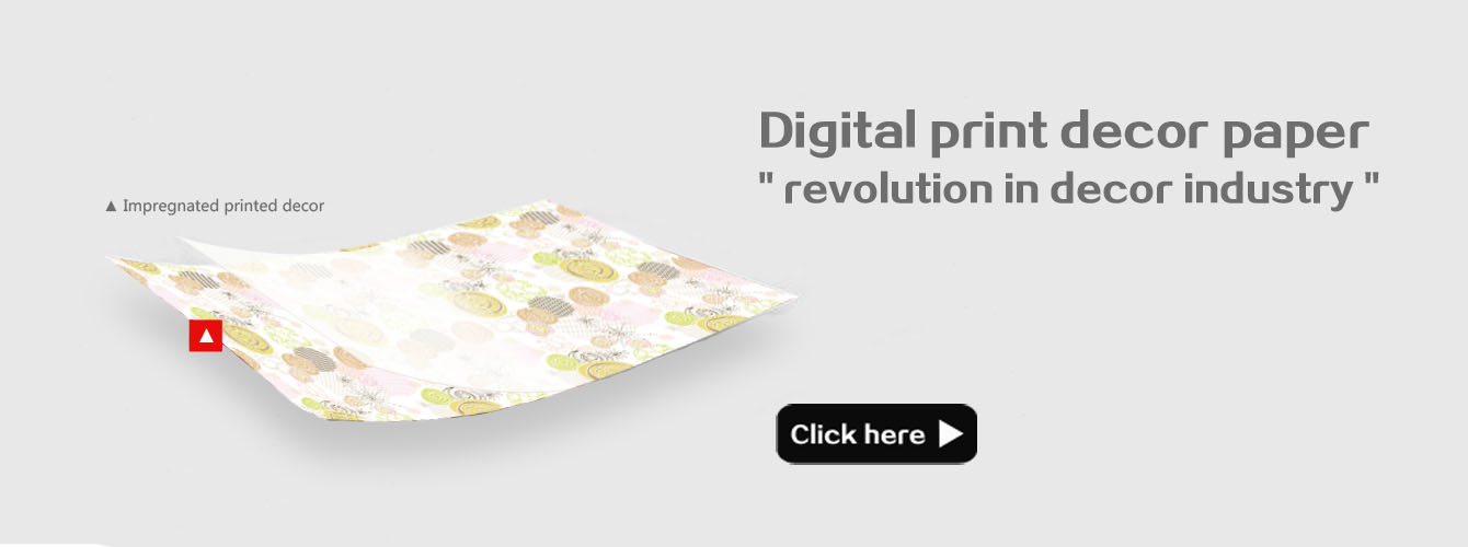 digital print decor paper